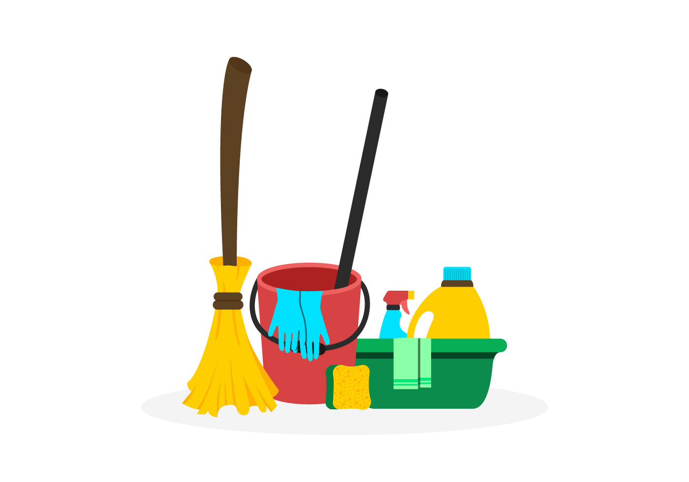spring-cleaning-vectors